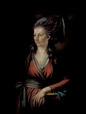 Johann Heinrich Fuessli. Portrait Of Maria Hess