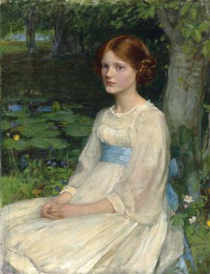 John William Waterhouse. Miss Betty Pollock