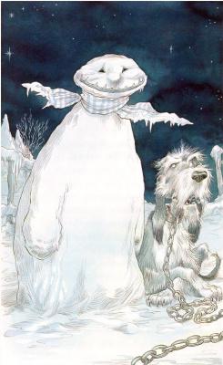 Крис Ридделл. Снеговик