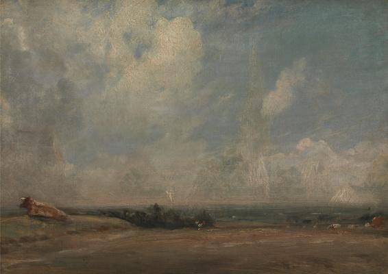 John Constable. Plains Landscape, Hampstead