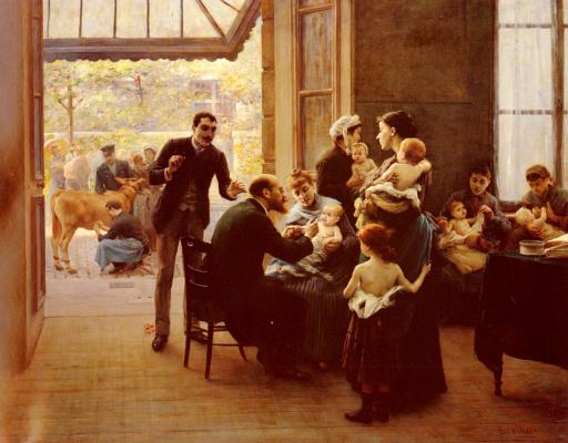 Жюль Скалберт. Дети