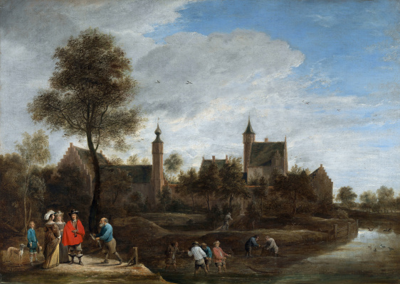 David Teniers the Younger. View near Antwerp