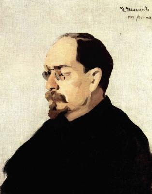 Nikolay Pavlovich Shlein (Schlein). Portrait Of A. Lunacharsky
