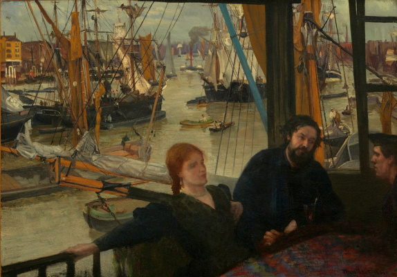 James Abbot McNeill Whistler. Wapping on Thames