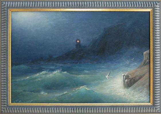 """Евгений Геннадиевич Лактионов. """"The lighthouse"""""""