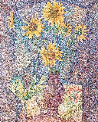 Мария Брониславовна (Воробьева-Стебельская) Маревна. Натюрморт. 1940-е