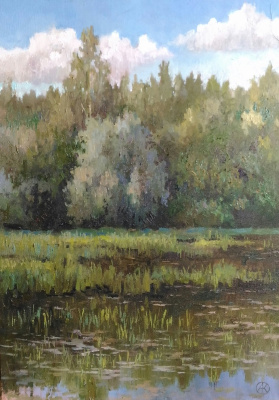 Ольга Акрилова. Borisov pond