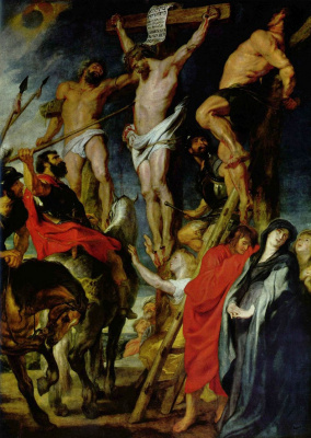 Peter Paul Rubens. The crucifixion
