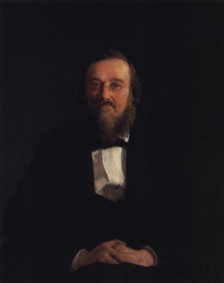 Nikolai Nikolaevich Ge. Portrait of the historian Nikolai Ivanovich Kostomarov
