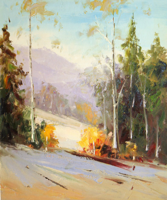 Andrey Sharabarin. Early autumn. Altai