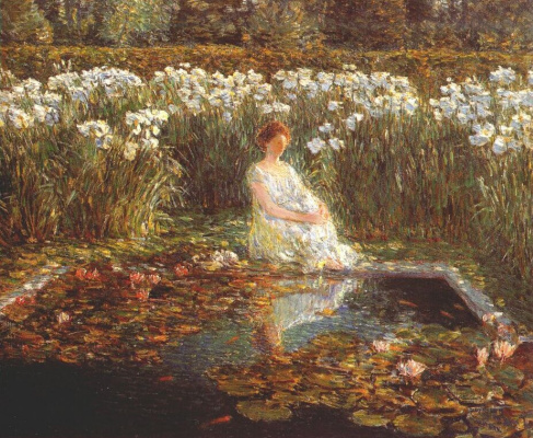 Childe Hassam. Lily