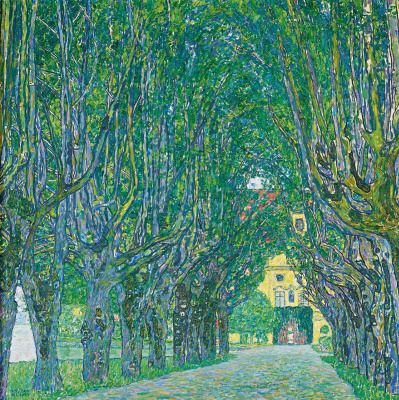 Gustav Klimt. Alley in front of Castle Chamber