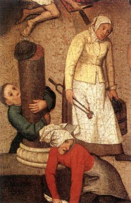Jan Bruegel The Elder. Plot 1
