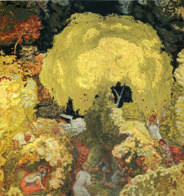 Пьер Боннар. Осенью. Сбор фруктов