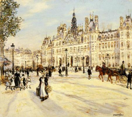 Жан-Франсуа Рафаэлли. Отель де Виль в Париже