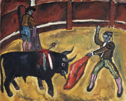 Petr Petrovich Konchalovsky. Bullfight