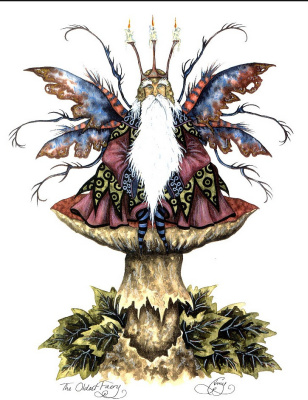 Эми Браун. Древнейшая фея