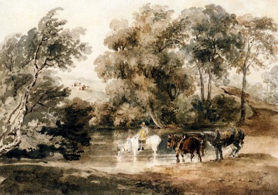 Питер де Винт. Лошади