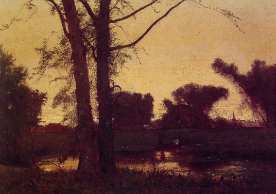 George Innes. Twilight