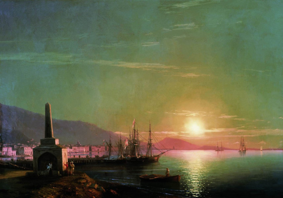 Ivan Constantinovich Aivazovski. The sunrise in Feodosiya