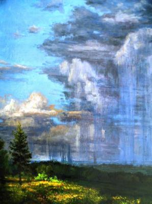 Victor Vladimirovich Kuryanov. Summer rains