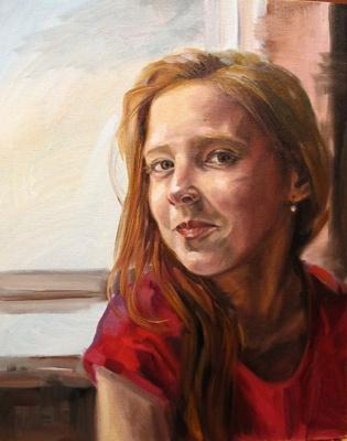 Dariya Zakharova. Girl with a pearl earring