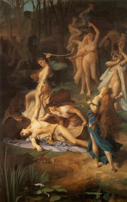 Эмиль Леви. Смерть Орфея
