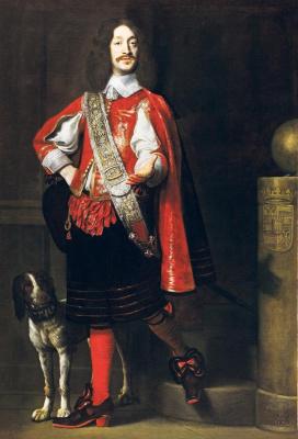 Самюэл ван Хогстратен. Портрет графа Фердинанда фон Венденберга