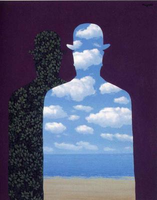 René Magritte. High society