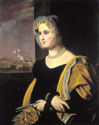 Orest Adamovich Kiprensky. Portrait of Catherine Sergeyevna Avdulina