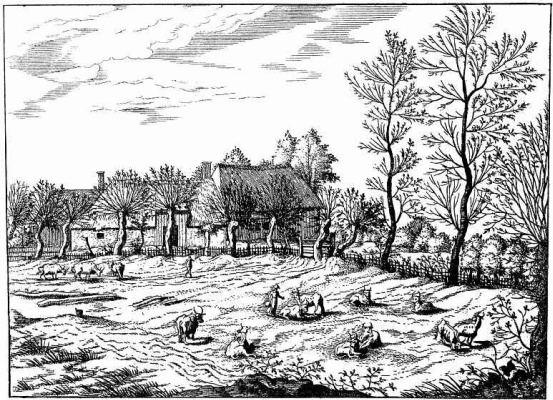 "Pieter Bruegel The Elder. The series ""Small landscapes"". Landscape # 6"
