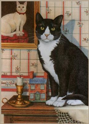 Джоан Кристенсен. Кот