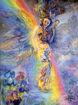 Жозефина Уолл. Радужный свет