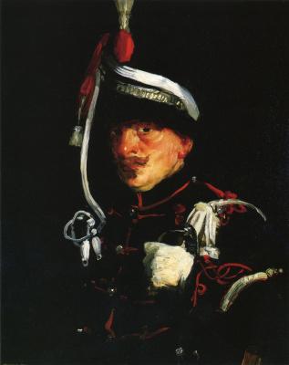 Роберт Генри. Голландский солдат