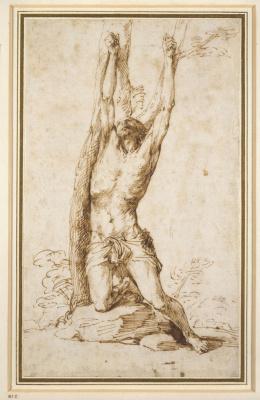 Jose de Ribera. Saint Sebastian
