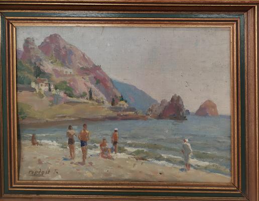 Gordon Meerovich Grigory (1909 - 1995). Gursuf Beach