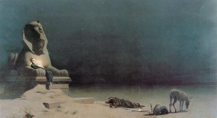 Люк Оливье Мерсон. Отдых на пути в Египет