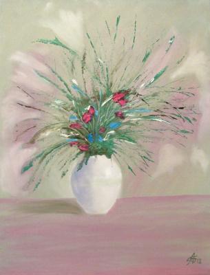 Artashes Badalyan. Herbal bouquet - xm - 45x35