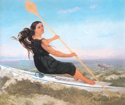 Гюстав Курбе. Борьба с волнами