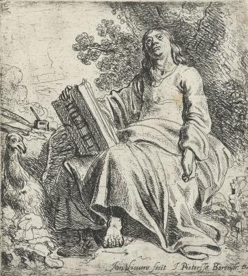 Jan Lievens. John the Theologian in Patmos