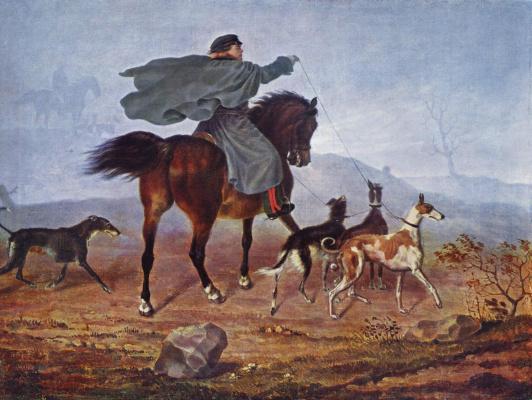Franz Kruger. Hunting