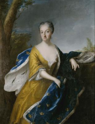 Жорж Десмари. Ульрика Элеонора, королева Швеции