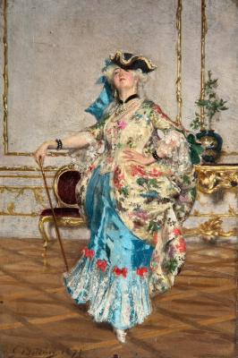 Giovanni Boldini. Elegant lady