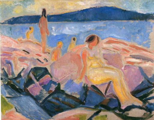 Edvard Munch. High summer II