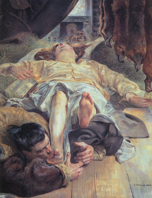 Яцек Мальчевский. Смерть Елены