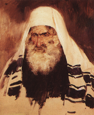 Vasily Dmitrievich Polenov. Head of an old Jew