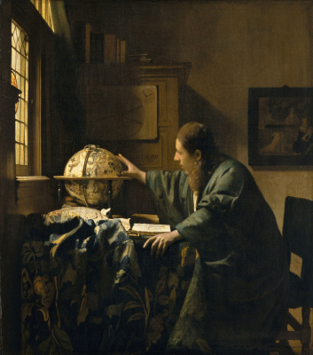 Jan Vermeer. Astronomer