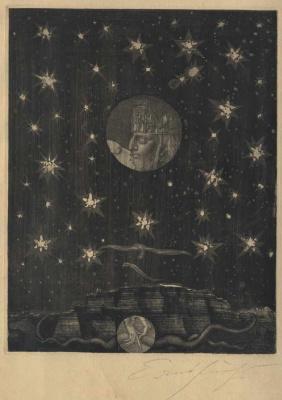Ernst Fuchs. Samson and the Philistine from Gaza