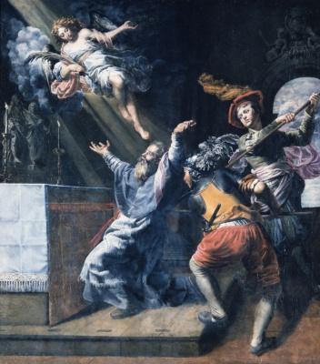Теодор ван Лоон. Мученичество святого Ламберта