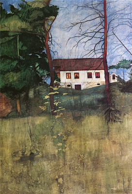Harald Oskar Sohlberg. House in the village